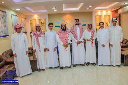 مدير التعليم بالخرج يكرم ثانوية الملك عبدالله
