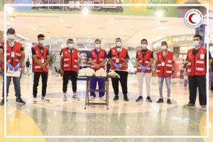 بالصور.. فريق التطوع بهيئة الهلال الأحمر بالخرج يُقيم مبادرة عن الإسعافات الأولية بأسواق المحافظة