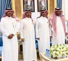 بالصور.. خالد العنقري يكرّم مدير شرطة الخرج بحضور الشيخ نغيمش بن قروش