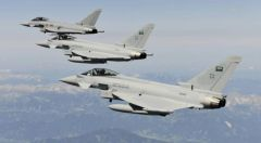 """""""قوات التحالف"""" تعترض وتدمر 4 طائرات """"مفخخة"""" أطلقتها المليشيا الحوثية باتجاه المملكة"""