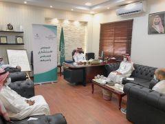 المجلس الاستشاري لأهالي المرضى يعقد اجتماعه الثالث في مستشفى #الدلم