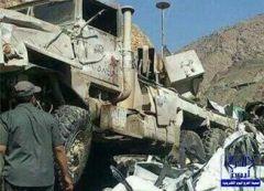مقطع فيديو يظهر معلومات جديدة حول حادث الشاحنة العسكرية بعسير