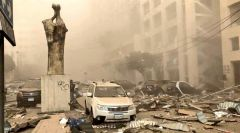 شاهد.. أضرار ضخمة خلّفها انفجار بيروت حتى بُعد 5 كيلومترات من موقعه