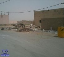 سوء النظافه في حي السهباء بالخرج يقلق الساكنين