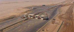 فيديو.. إنجاز أول كيلومتر من شبكة طرق مشروع البحر الأحمر وبدء تشغيل الطريق