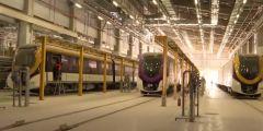 """بالفيديو.. """"قطار الرياض"""" يبدأ التشغيل التجريبي للتأكد من عناصر السلامة"""