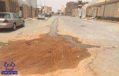 مياه الرياض ترد على خبر (استياء أهالي النهضة من الصرف الصحي) بالخرج