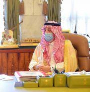 أمير الرياض يقلد عدداً من الضباط رتبة لواء بعد صدور أمر سام بترقيتهم
