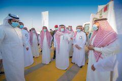 بالصور.. أمير القصيم يدشن مركز الفحص الموسع في بريدة ويطّلع على التجهيزات الطبية