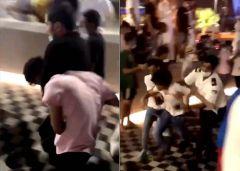 بالفيديو.. مشاجرة عنيفة بين فتيات وشبان في مجمع تجاري بالرياض