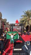 """ابن #الخرج البار """"ناصر بن سعد المطرد"""" يتألق في رياضة الترياثلون العالمية في دولة #البحرين"""