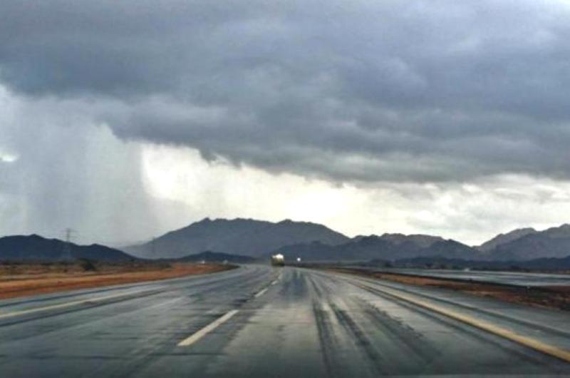 """""""الأرصاد"""": أمطار رعدية على معظم مناطق المملكة من الثلاثاء وحتى السبت المقبل"""