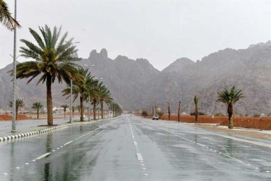 """""""الأرصاد"""": هطول أمطار رعدية على معظم مناطق المملكة من غد الإثنين إلى الجمعة"""