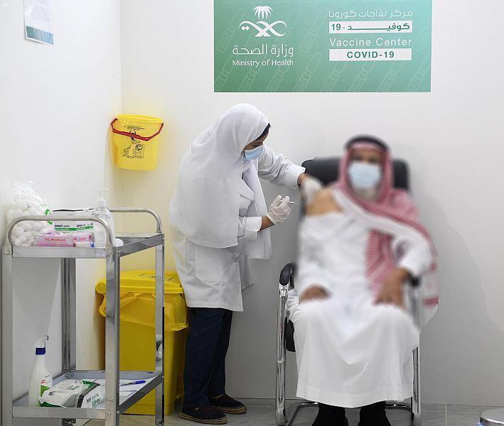 ارتفاع عدد الجرعات المُعطاة من لقاح كورونا في المملكة إلى 14,5 مليون جرعة