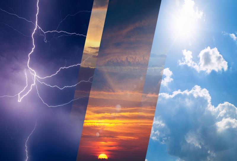 """""""الإنذار المبكر"""" ينبه من موجة حارة في الشرقية.. وأمطار رعدية ورياح نشطة على عدد من المناطق"""