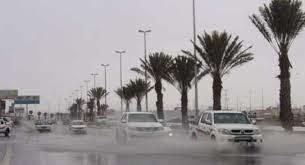 الأرصاد: هطول أمطار على عددٍ من المناطق بدءًا من الأربعاء