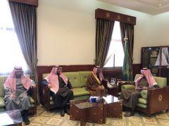 محافظ الخرج يلتقي وكيل جامعة الإمام محمد بن سعود الإسلامية