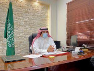 الاستاذ ماجد العنزي يباشر عمله مديرا لمستشفى #الدلم