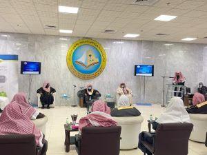 بالخرج : مدير عام هيئة الرياض يدشن حملة الخوارج شرار الخلق