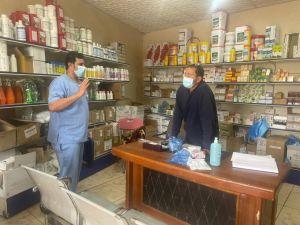 بالصور.. مكتب مياه وزراعة الخرج ينفذ جولات ميدانية لمتابعة التقيّد بالإجراءات والإحترازية