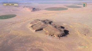 """منطقة """"قريّة"""" في تبوك.. يرجع تاريخها إلى 12 ألف عام وتضم قنوات مائية ومناطق زراعية"""