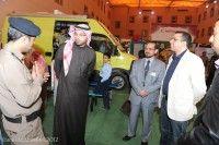 ختام رائع لمعرض الدفاع المدني .. والدكتور عبدالعزيز العبيّد يبدي اعجابه بأركان المعرض