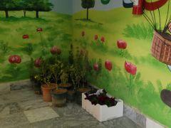 بالصور.. #زراعة_ومياه_الخرج تزوّد الروضة الرابعة بشتلات زراعة وورود متنوعة بحي الأندلس بالخرج