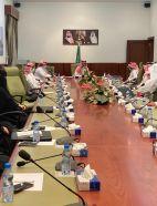 محافظ الخرج يلتقي أعضاء لجنة شؤون الأسرة بالمحافظة