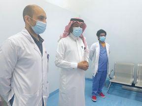 مستشفى #الدلم يدشن حملة بمناسبة الشهر التوعوي لسرطان الثدي