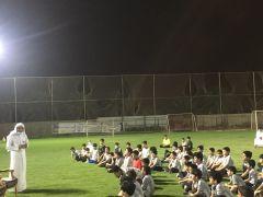 هيئة الخرج توعّي الجيل الصاعد بزيارة لأكاديمية رياضية