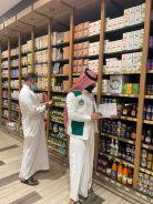 بالصور.. مكتب المياه والزراعة بالخرج ينفذ زيارات تفتيشية لمنافذ بيع المنتجات العضوية