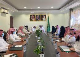 محافظ الدلم يستقبل فريق تقييم برنامج المدن الصحية بمنطقة الرياض