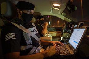 القبض على شخص يدّعي اعتداءه على العابرين لأحد الطرق الرئيسية بمنطقة جازان