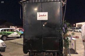 بالصور.. إغلاق أكثر من 40 عربة للوجبات المتنقلة بالعاصمة المقدسة وتغريم أصحابها