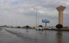 """""""الأرصاد"""": استمرار هطول الأمطار الرعدية من الغد وحتى الخميس بمعظم المناطق.. وهذه تفاصيلها"""
