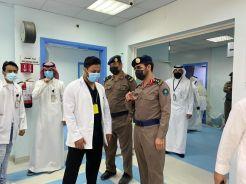 بالصور.. مستشفى#الدلم ينفذ فرضية حادث و همي للوقوف على الاستعدادات