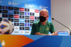 مدرب النصر: لا نفكر في خصمنا القادم.. ومستعدون لأي فريق