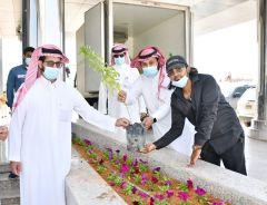 مدير تعليم الخرج يوجه شكره لمدير مكتب وزارة البيئة والمياه والزراعة بمحافظ الخرج