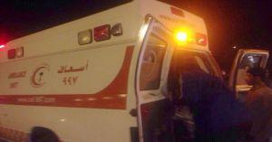 وفاتان و5 إصابات في حـادِث مروري مروع على طريق بسيطا الزراعية بالجوف