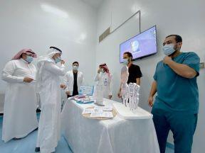 تحت شعار ( صحتي تبدا بفمي)مستشفى #الدلم يفعل اسبوع صحة الفم