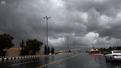 طقس الإثنين: أمطار رعدية مصحوبة برياح نشطة على معظم مناطق المملكة