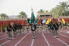 بالصور.. حفل تخرج طلبة كلية الملك عبدالعزيز الحربية بمدينة الرياض