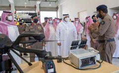 بالصور.. تدشين عدد من مقرات الدفاع المدني في الرياض ومحافظاتها