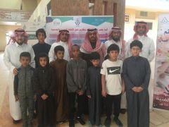 بالصور.. وفد من طلاب ضعاف السمع في زيارة لمدرسة اليرموك الابتدائية