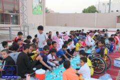 الإفطار الجماعي ( صيام يوم عاشوراء ) بنادي الحي با لدلم