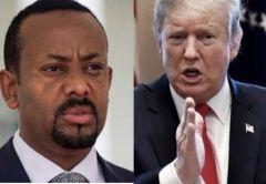 ترامب: مصر قد تفجر سد النهضة.. وإثيوبيا: لا توجد قوة تمنعنا من استكمال السد
