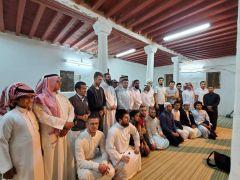 لجنة التنمية السياحية بمحافظة #الدلم تستقبل وفد من طلاب المنح بجامعة الأمير سطام بن عبدالعزيز
