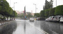 """""""الدفاع المدني"""" يحذر من هطول أمطار رعدية على بعض مناطق المملكة من غدٍ وحتى الخميس"""