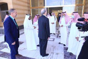 بالصور.. محافظ الخرج يلتقي رئيس مجلس الأعمال السعودي الإيرلندي