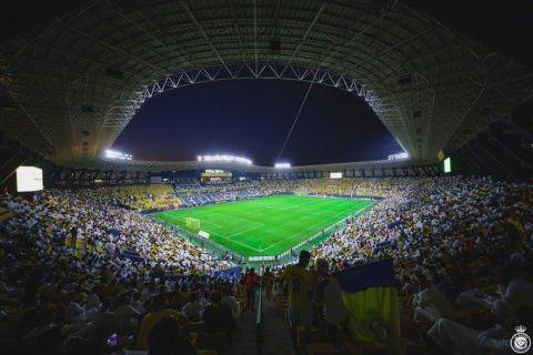 """بالفيديو.. رسميًا.. النصر يعلن فتح مدرجات """"مرسول بارك"""" في مباراة الاتفاق مجانًا"""